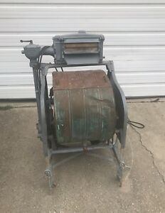 Antique Washing Machine 1900 Cataract Binghamton Ny Copper Tub Cast Iron
