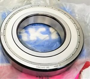 Radial Ball Bearing Shielded 100mm Bore Skf 6220 2z Jem b6b2