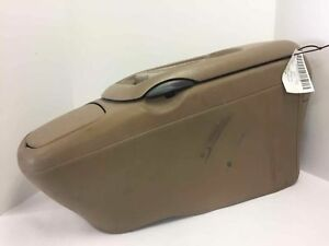 95 99 Chevy Silverado Gmc Sierra Front Center Console Tan Oem Damaged
