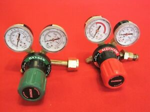 Welding Regulators Radnor Harris Oxygen Acetylene Torch Next Day Shipping