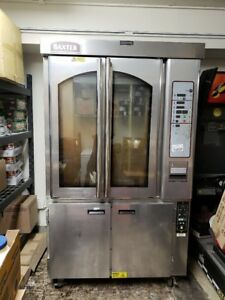 Baxter Ov310e Rotating Rack Oven W Steam 220v