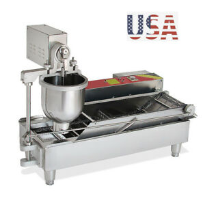Brand New Automatic Commercial Donut Fryer Maker Making Machine Donut Maker
