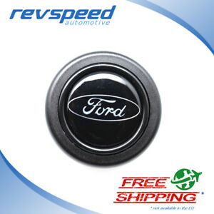 Elettro Steering Wheel Horn Button For Momo Omp With Ford Logo Emblem