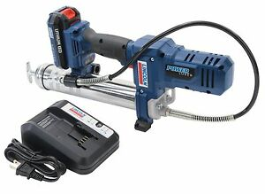 Lincoln 1264 12v Grease Gun Kit W 2 Batteries