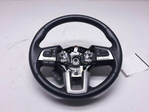 Outbakleg 2015 Steering Wheel Leather Black Oem 34312al050vh