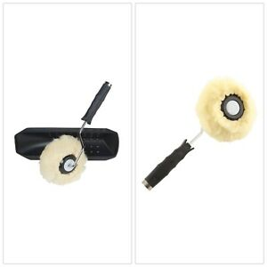 Paint Brushes Roller Compatible Water Based Oil Enamel Paints Drywall Compound