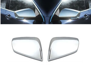 For 2014 2018 Chevy Impala Chrome Side Mirror Cover Covers Overlay