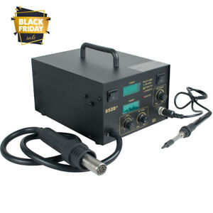 2 In1 Hot Air Rework Station Soldering Digital Heat Gun Welding Solder Machine