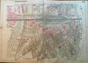 1929 Bridgeport Connecticut East End Remington Arms Co P S 19 20 22 Atlas Map