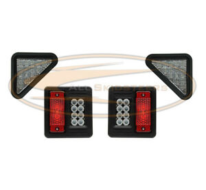 Led For Bobcat Exterior Light Kit Head Light Tail Light Plug N Play For Skid