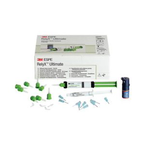 3m Espe 56892 Relyx Ultimate Adhesive Resin Cement Syringe Trial Kit Translucent