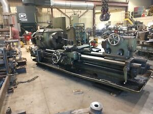 Lodge Shipley 25 X 72 With 11 1 2 hollow Spindle Engine lathe