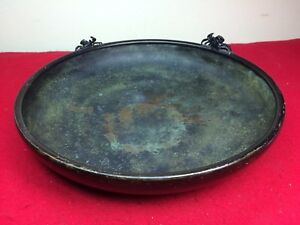 Antique Vtg Chinese Bronze Censer 11 5 Possibly Ming Or Japanese Meiji Beauty