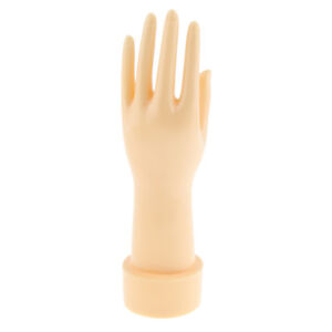 Mannequin Hand Model Jewelry Bracelet Ring Display Plastic Stand Holder