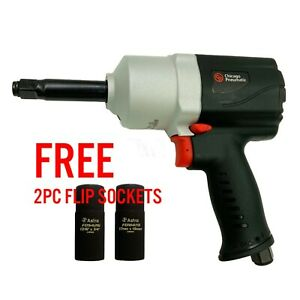 Chicago Pneumatic 7749 2 1 2 Composite Impact Wrench W 2 Extended Anvil