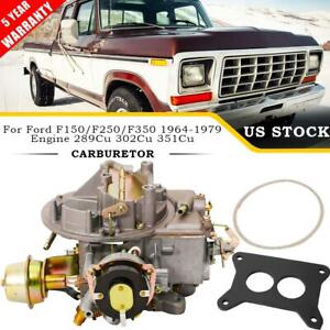 Carburetor 2100 A800 2 Barrel For Ford F100 F250 F350 289 302 351cu Engine 64 78