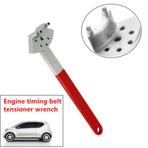 Fantistic Engine Timing Belt Tension Pulley Wrench Tool Fit For Car Vehicles Vag