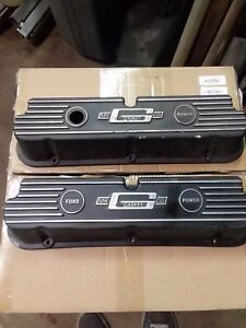 Rare Mr gasket Sbf Aluminum Valve Covers 289 302 351w Ford Cal Custom Mt