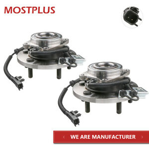 2x Front Set Wheel Hub Bearing Assembly For Grand Caravan Town Country Routan