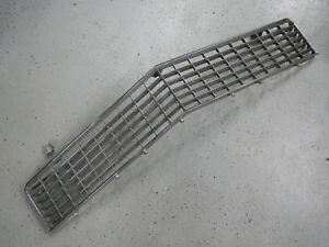 1965 Buick Riviera Front Grill Chrome 65 Grille 1 Mounting Tab Broken Damaged