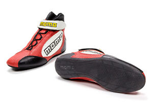 Momo Gt Pro Racing Shoes Red 7 7 5 Calf Airleather