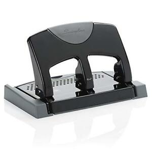 Swingline 3 Hole Punch Hole Puncher Smarttouch 45 Sheet Punch Capacity Low F