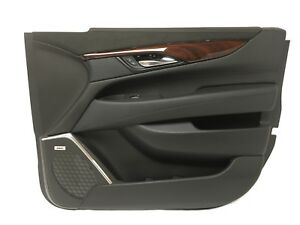 Front Rh Passenger Side Door Trim Panel Cadillac Escalade Esv Black Suede