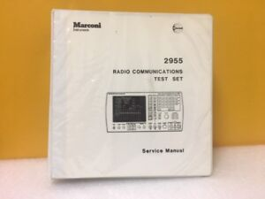 Marconi 2955 Radio Communications Test Set Service Manual
