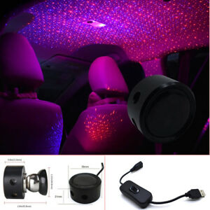 3 Models Led Galaxy Light Home Car Roof Star Ceiling Atmosphere Light Twinkle