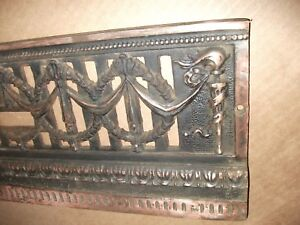 Lots Of Copper Cast Bronze Brass Fireplace Architectural Salvage 8 X 20