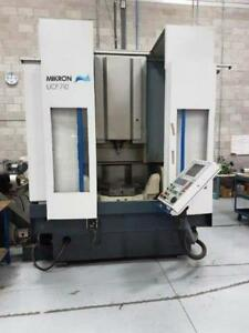 Mikron Upc 710 5 axis Cnc Vertical Machining Center