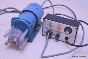 Cole parmer Peristaltic Pump 7016 Head With Solid State Masterflex P Controller