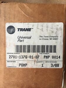 New Trane Oil Pump For Compressor Pmp 0014