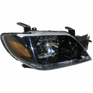 Headlight For 2003 2004 Mitsubishi Outlander Right With Bulb Clear Lens Capa