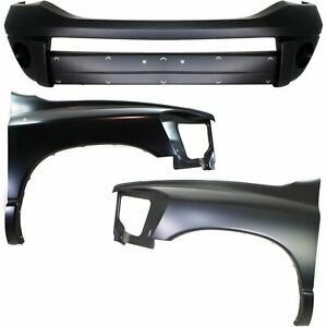 New Kit Auto Body Repair Front For Ram Truck Dodge 1500 2500 3500 2006 2009