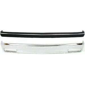 New Kit Bumper Face Bar Front Chrome For Chevy S10 Pickup S 10 Blazer Chevrolet