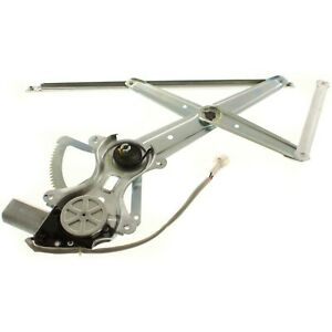 Power Window Regulator For 1998 2007 Toyota Land Cruiser Front Right With Motor