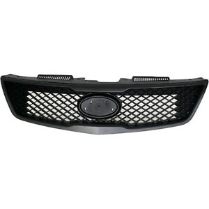 Grille Assembly For 2010 Kia Forte Textured Black