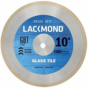 Lackmond Beast Pro Series Glass Tile Saw Blade 10 Glass Cutting Tool With Ult