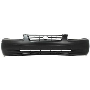 Front Bumper Cover For 97 99 Toyota Camry Primed Capa