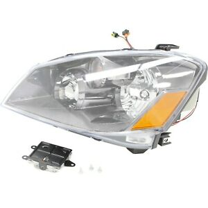 Headlight For 2005 2006 Nissan Altima Left Clear Lens Hid With Bulb