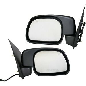 Kool Vue Set Of 2 Mirror Power For 2000 2001 Ford Excursion Left