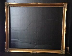 Picture Frame 22 X 18 Vintage Chic Antique Style Baroque Ornate Classic Gold