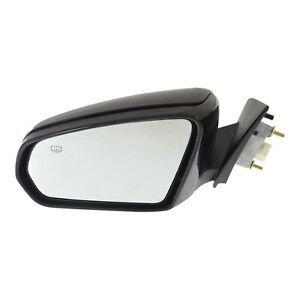 Power Mirror For 2008 2009 Dodge Avenger Manual Fold Left Heated Paintable
