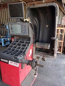 Tire Balancer Machine Hunter Gsp 9700 For Parts Or Not Working Local Pick Up