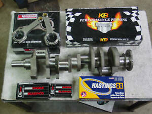 Chevy 454 496 Stroker Kit Bbc Crankshaft Rods Wiseco Pistons 4340 Forged 100