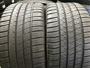 Set Of 2 Used Tires P255 35zr18 94y Michelin Pilot Sport A s 3 2553518