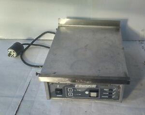 Roundup Commercial Compact Griddle Restaurant Food Truck Equipment 208v