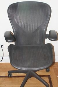 Herman Miller Aeron Chair Size C All Features Plus Adjustable Posture Fit