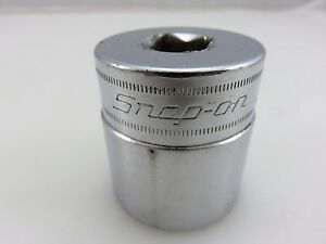 Snap on Swm301 30mm Chrome Metric Socket 1 2 Dr 12 Point